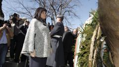 Караянчева и депутати положиха венци в чест на спасението на българските евреи