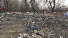Откриха тонове боклуци в река Чая край Катуница