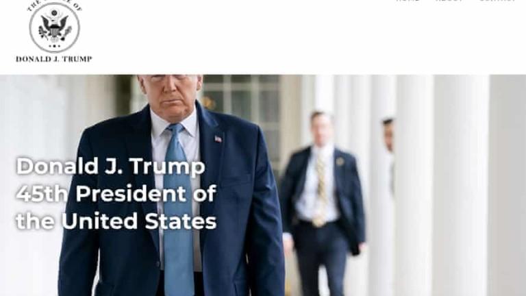 Доналд Тръмп използва нова страница за пренаписване историята на управлението си