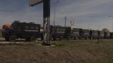 Сблъсъци между жандармерия и протестиращи на границата с Турция