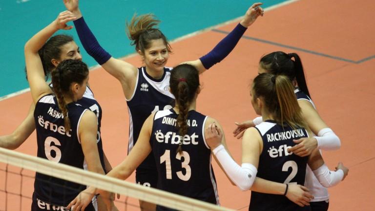 Волейболистките на Левски с драматичен успех над Казанлък Волей