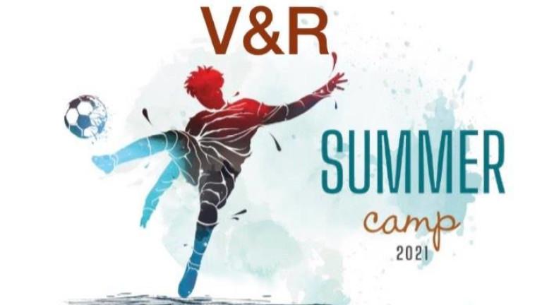V&R Summer Camp организира футболен целодневен лагер за деца, родени
