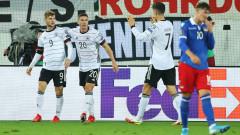 Германия победи само с два гола Лихтенщайн в дебюта на Ханзи Флик