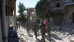 Две болници и пекарна поразени при удари в Алепо