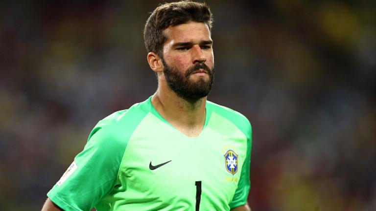 """Рома каза """"да"""" на Ливърпул за Алисон, бразилецът става най-скъпия вратар в историята"""