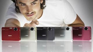 Sony представи два свръхтънки фотоапарата (галерия)