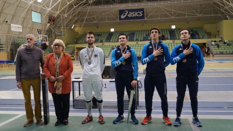 Италианецът Джорджо Марчиано спечели първото място в международния турнир на