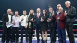 """Министър Кралев награди заслужили боксьори и треньори преди големия мач в """"Арена Армеец"""""""