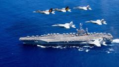 Флотът на САЩ с маневри в Западния Пасифик