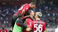 Милан продължава без грешка, а Златан се завърна с гол