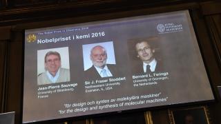 Трима европейци печелят Нобела за химия за 2016 г. за най-малките машини в света