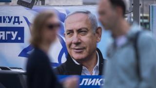 Проучвания: Партията на Бени Ганц печели изборите в Израел, но Нетаняху сформира коалиция