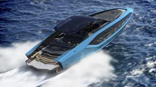 Lamborghini 63 - суперавтомобил, който се движи по вода