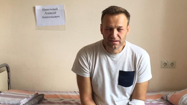 Руска болница съобщи, че токсикологичен тест, проведен върху биологичен материал