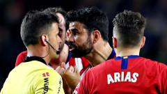 Диего Коща със сигурност няма да играе в първия мач за Атлетико от Ла Лига