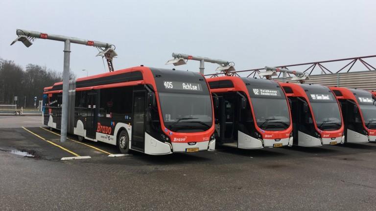 Перник се сдоби с 5 електробуса