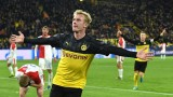 Борусия (Дортмунд) взе своето от Славия и се класира за елиминациите в Шампионската лига