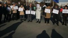 "Горублянци блокираха ""Цариградско шосе"""