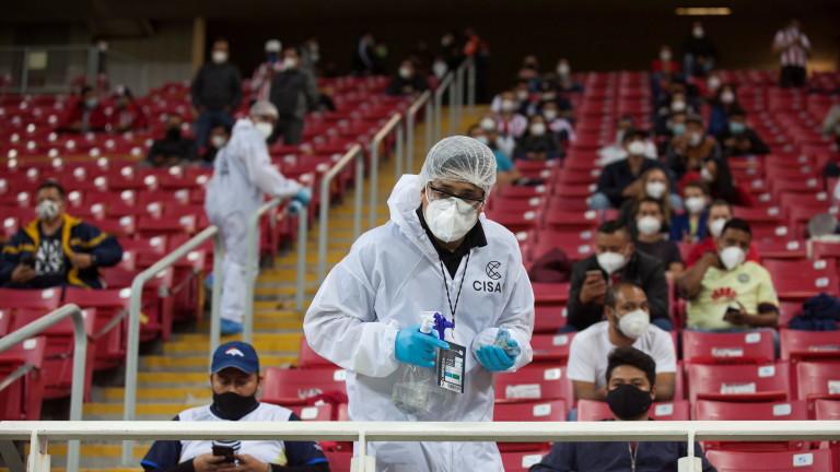 регистрира повече от 21 080 случая на Covid-19 за денонощие,