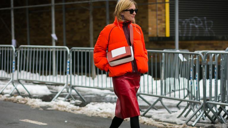 Тенденция назаем: пухено яке