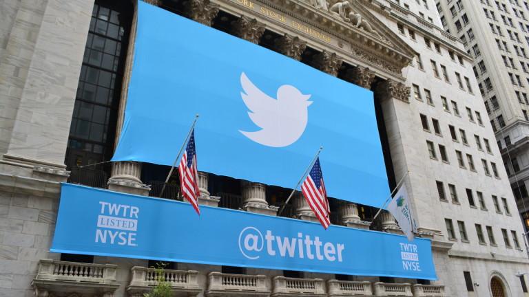 Снимка: Twitter признава за използвани потребителски данни, така е от 2018 г.