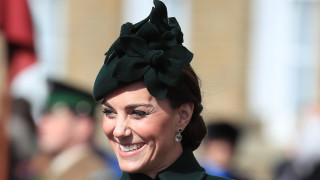 Как Кейт Мидълтън тренира за кралица