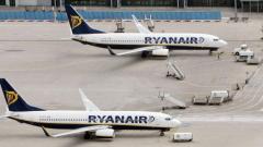 Ryanair отменя 30 полета заради стачки в Ирландия