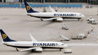 Ryanair отменя 30 полета заради стачка в Ирландия