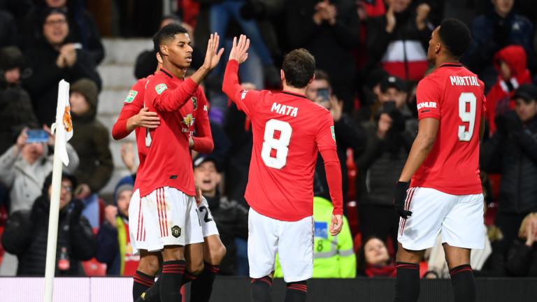 Манчестър Юнайтед също намери място на полуфиналите за Купата на