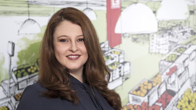 Милена Караилиева, Kaufland: Грижата за екипа остава водеща и през 2021 година