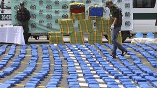 Рекордни 206 тона кокаин иззети в Колумбия от началото на 2016 г.