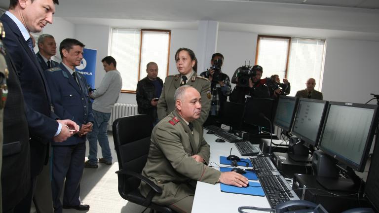 Армията предоставя на МВР своя командна система за общо ползване