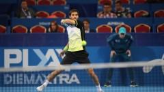 Александър Донски ще играе с Мартин Клижан в първия кръг на Sofia Open 2018