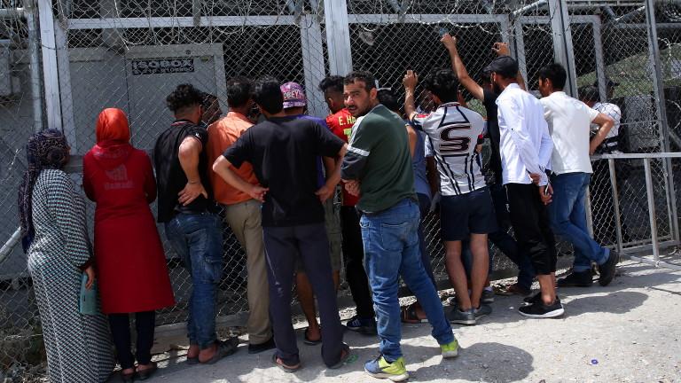 Около 250 мигранти от бежанския център