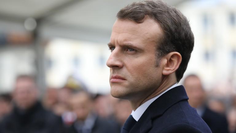 Макрон: Франция няма дългосрочен ангажимент в Сирия