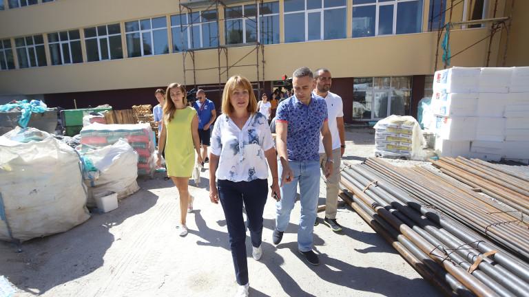 Снимка: Над 90 млн. лева инвестирала Фандъкова за ремонти на училища и детски градини