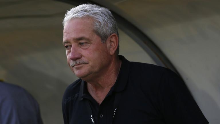 Новият треньор на Ботев (Пловдив) Ферарио Спасов предвижда сериозни тренировка