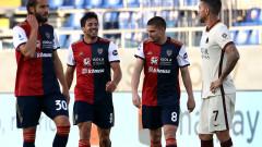 Каляри се измъкна от зоната с изпадащите след победа над Рома