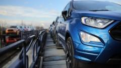 """Тръгна износът на """"Форд"""" EcoSport от Крайова"""