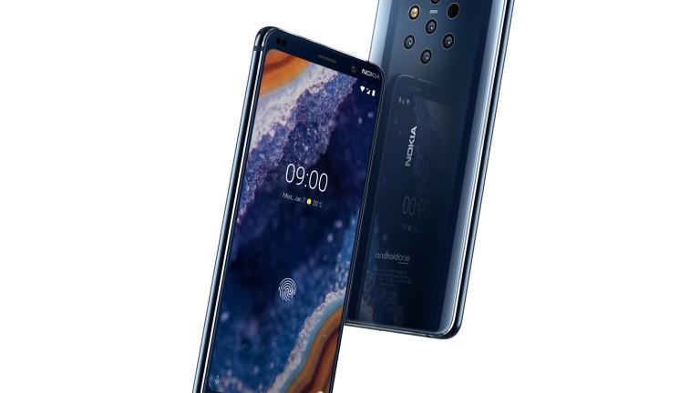 Nokia показа първия в света смартфон с пет камери -