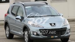 Шпионски снимки на модифицирано Peugeot 207 (галерия)
