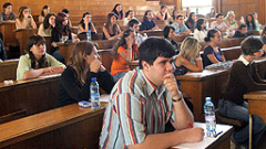 Кандидатстудентски изпити в София и Благоевград