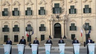 Лидерите на седем южноевропейски държави с обща позиция за миграцията и климата