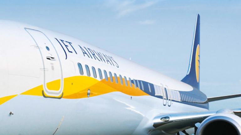 Jet Airways, някога най-голямата частна авиокомпания в Индия, спря полетите