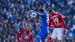 Антов на линия за ЦСКА срещу Дунав