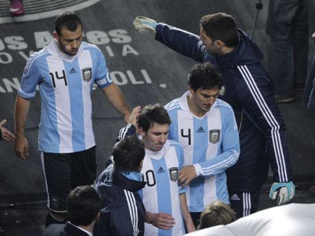 Румъния приема Аржентина в контрола