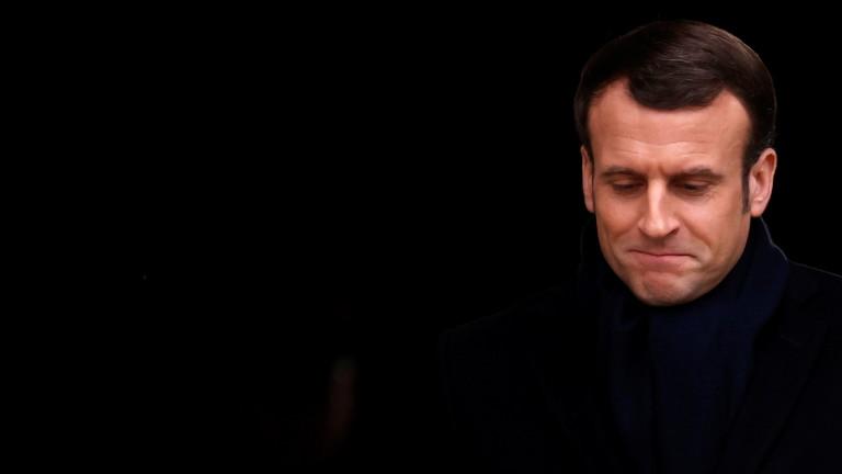 Макрон: Франция готова да помогне на България и Гърция за защита на границите