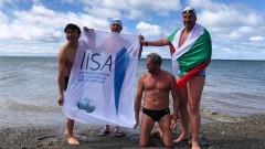 Петър Стойчев се подготвя за първото състезание в ледени води в Антарктида