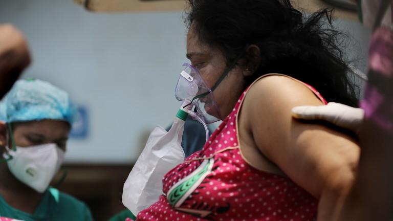 Заразените с новия коронавирус (COVID-19) в Индия продължиха да се