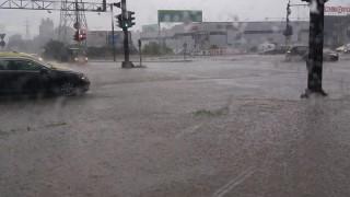 Силна буря се развихри над Кърджали